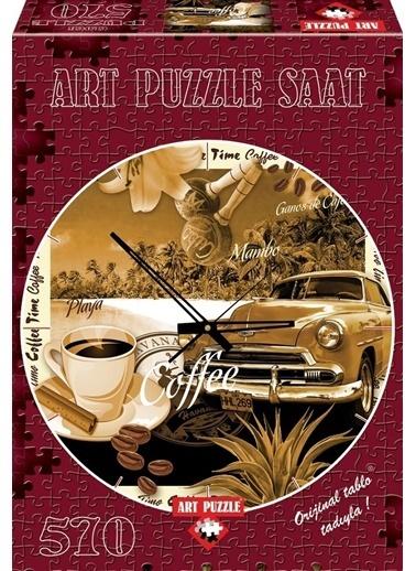 Educa Art Puzzle 570 Parça Saat Bi Kahve Renkli